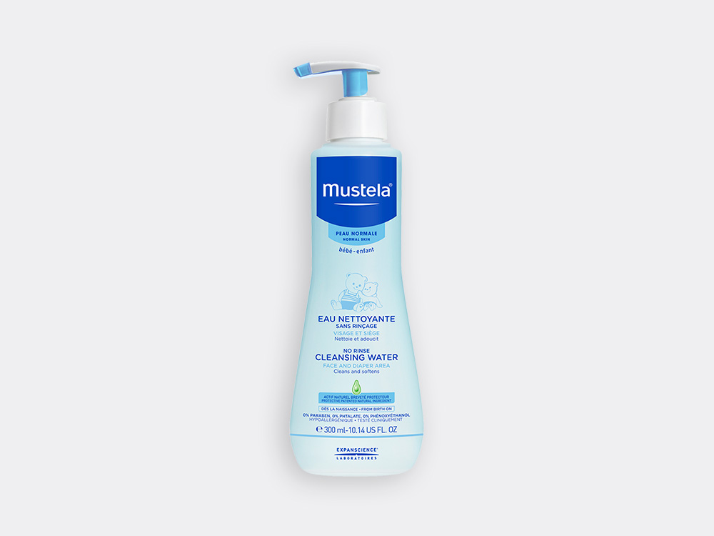 Mustela No rinse cleansing water for babies with normal skin